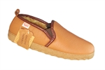 DEERSKIN SLIPPER TAMARAC-tamarac-Shirley's Shoes